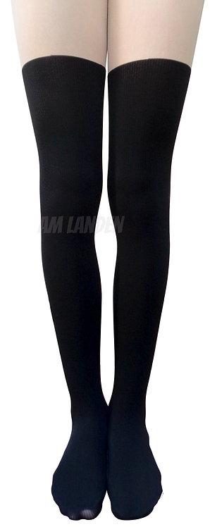 AM Landen Upgrade Mock Thigh-Highs Pantyhose(Nude)