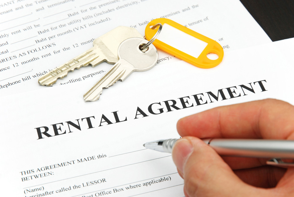 Rental agreement signing does not always come with parking