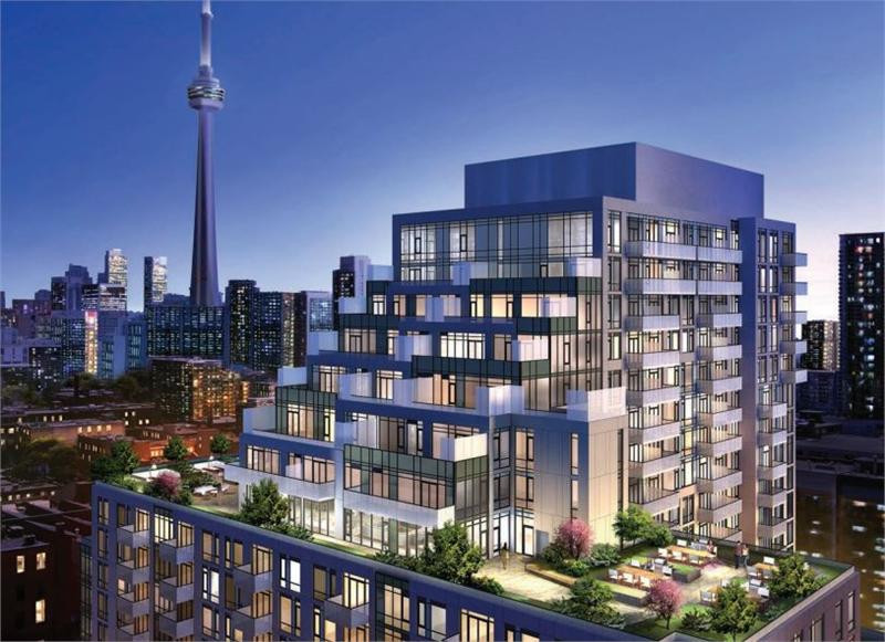 A high end condominium in Toronto, Ontario