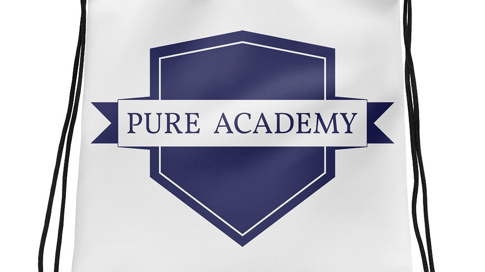 Pure Academy Drawstring bag