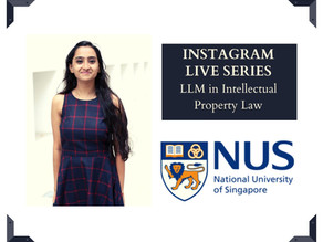 Soumita Basu on LLM in IP Law from the National University of Singapore