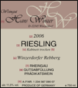 German wine label explained