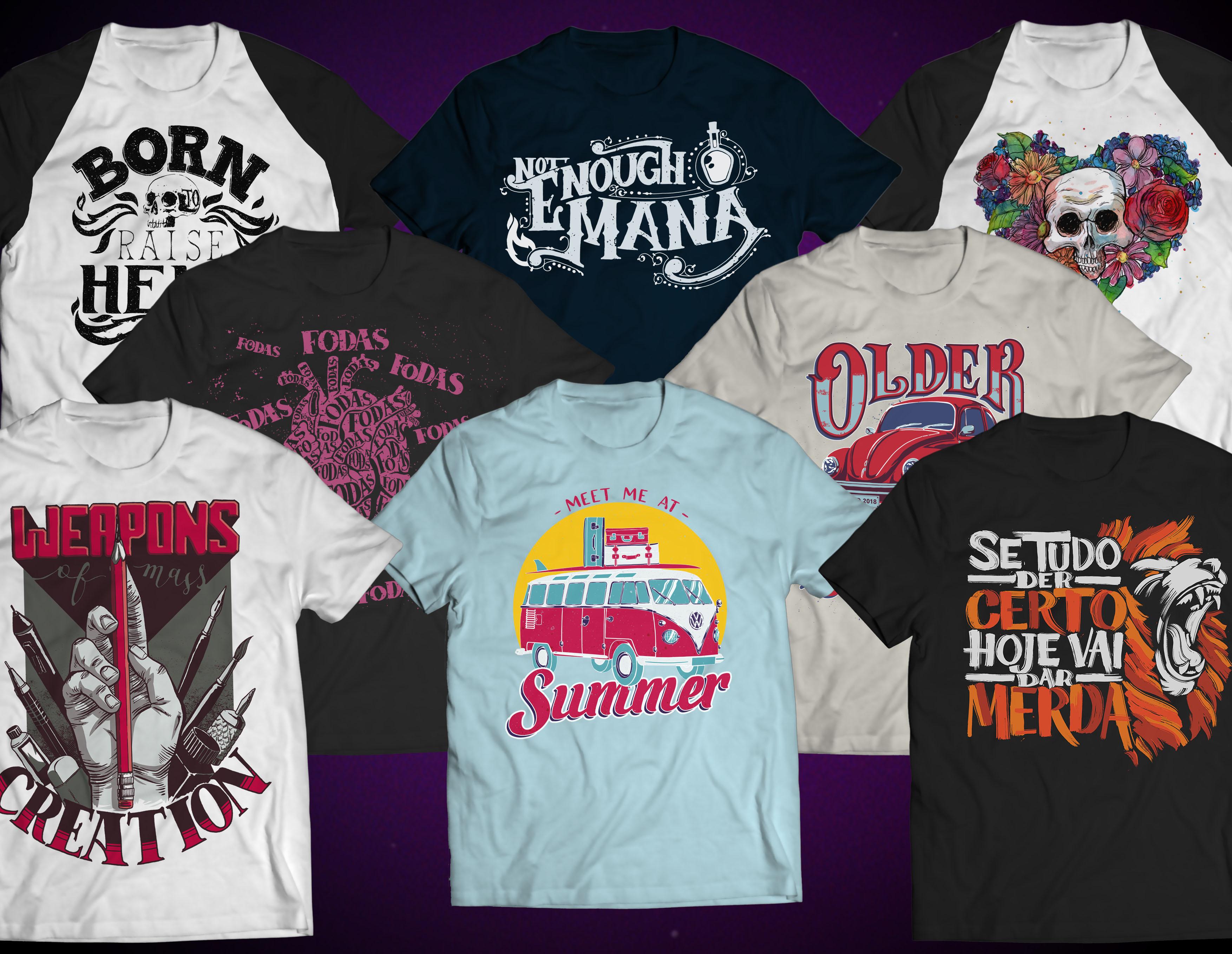 T-Shirt Design: Pattern & Print