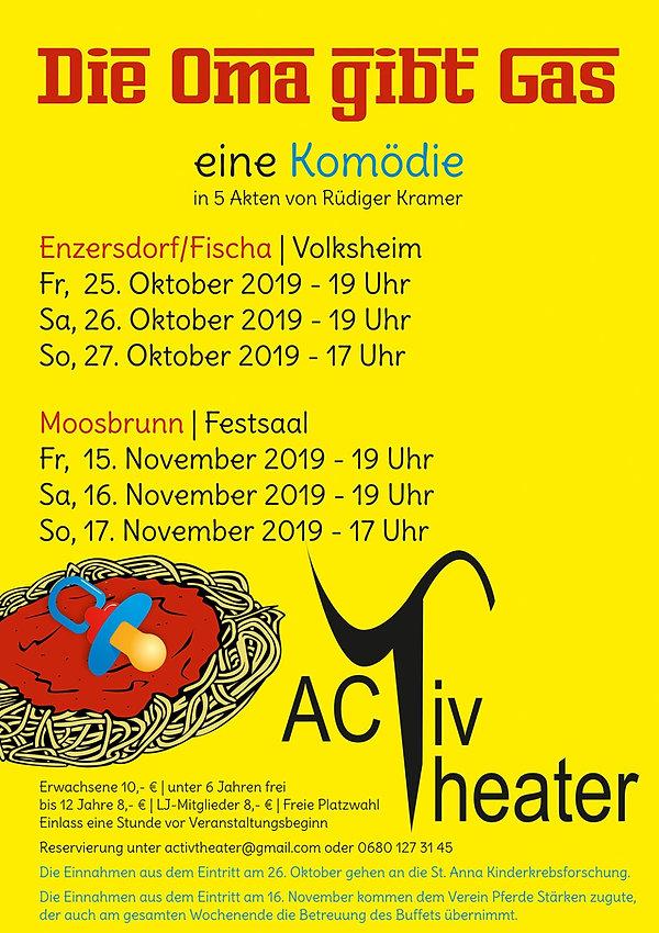 Activtheater für KINDER STÄRKEN, Die Oma gibt Gas