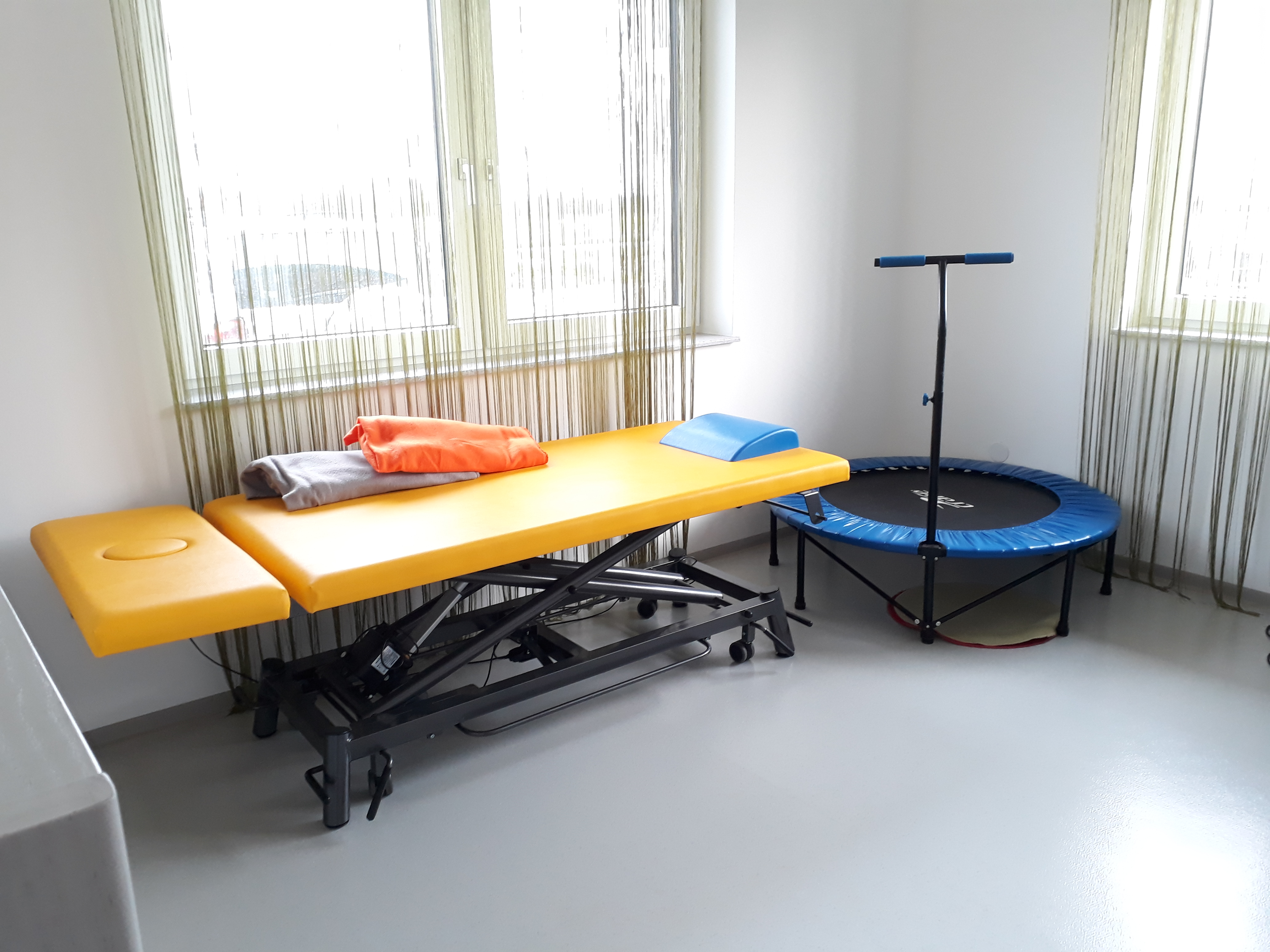 KINDER STÄRKEN, Therapieraum, Physio