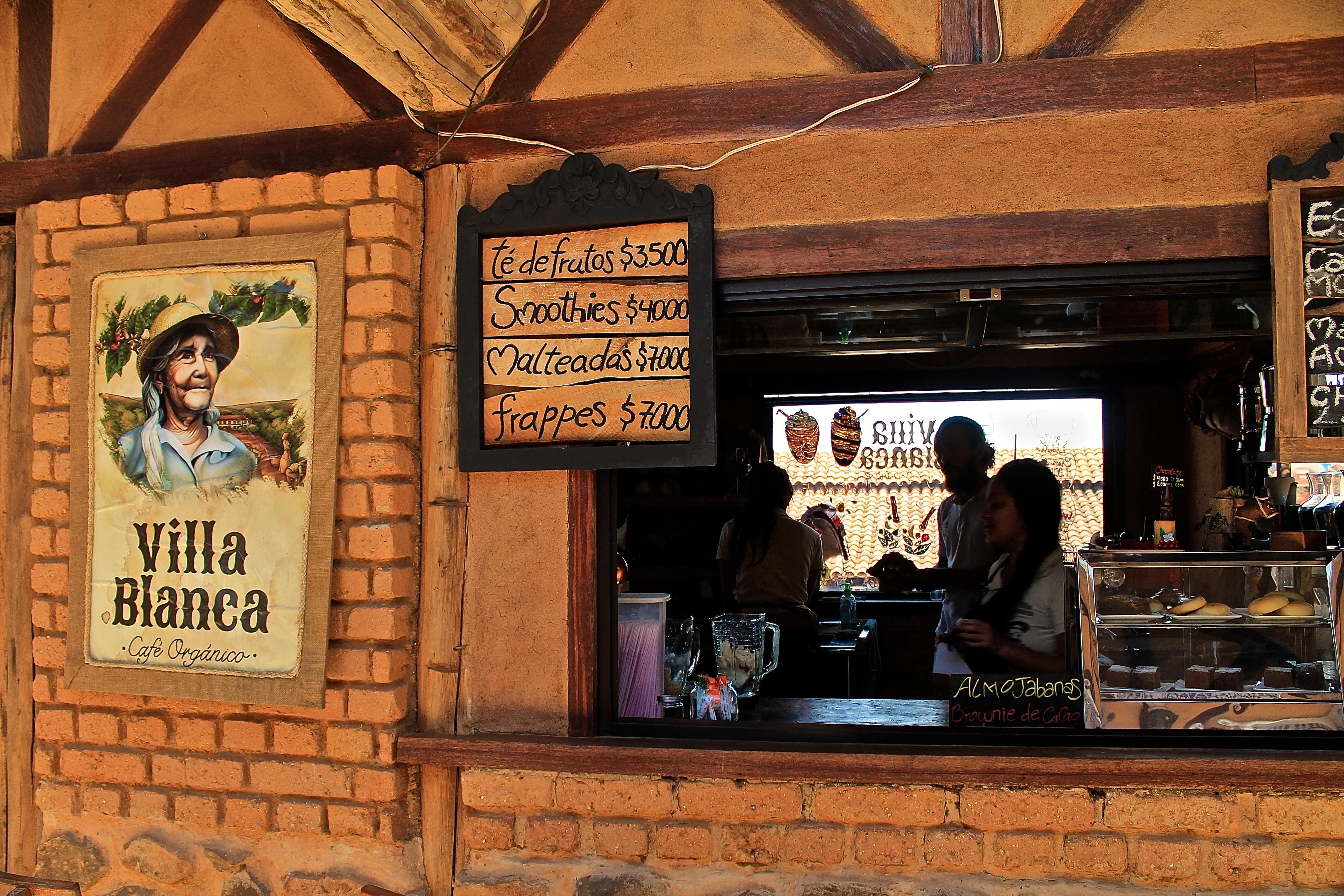 Cafe organico de Villa Blanca