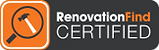 RenovationFind Certified Roofing Contractor
