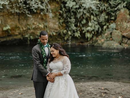 Mehrisey & Mark: Autumn Wedding