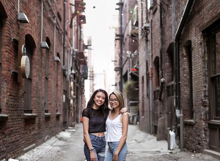 Urban Senior Portraits    Kim & Jaeda    September 2017