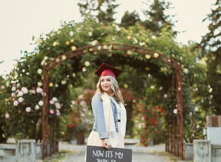 Gabby's Senior Grad Portraits