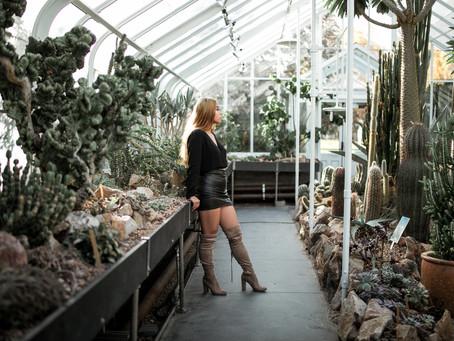 Fashion Portraits || Chantalie || Volunteer Park Conservatory