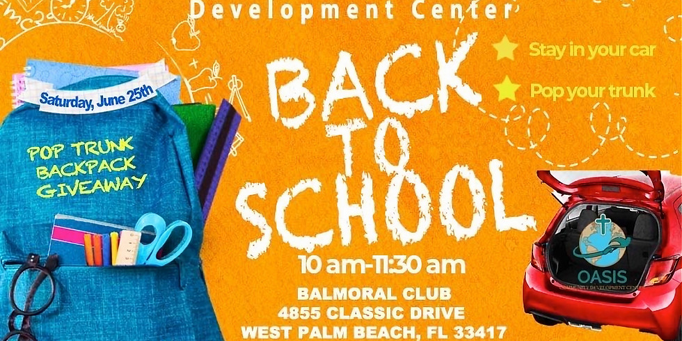 Back to School Supplies Event