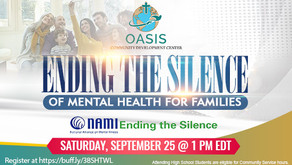 Ending the Silence of Mental Health for Families
