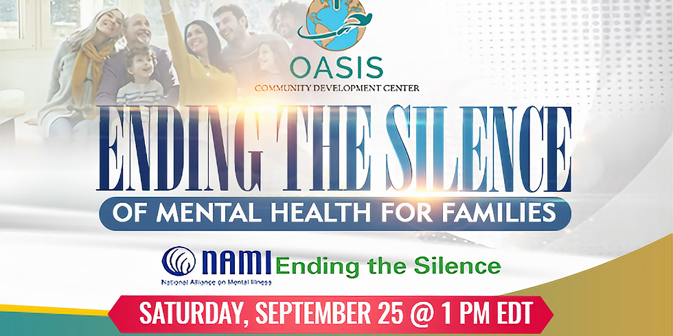 Ending the Silence on Mental Health for Families