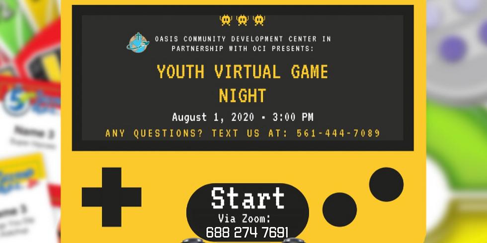 Oasis Youth Virtual Game Night!