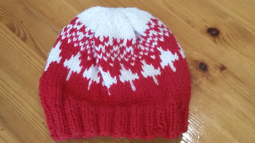 Baby Red Winter Hat
