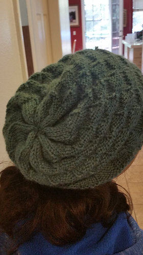Green Checkered Hat