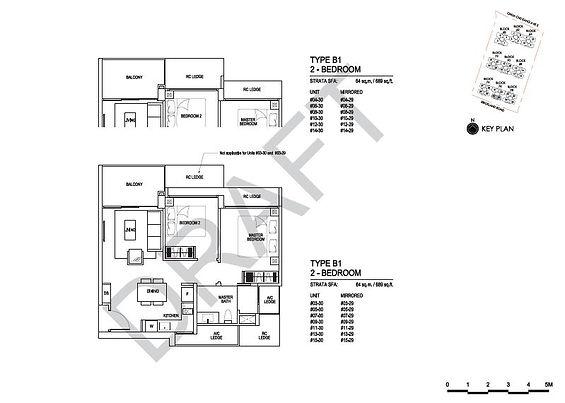 Inz Residences Layout EC Choa Chu Kang