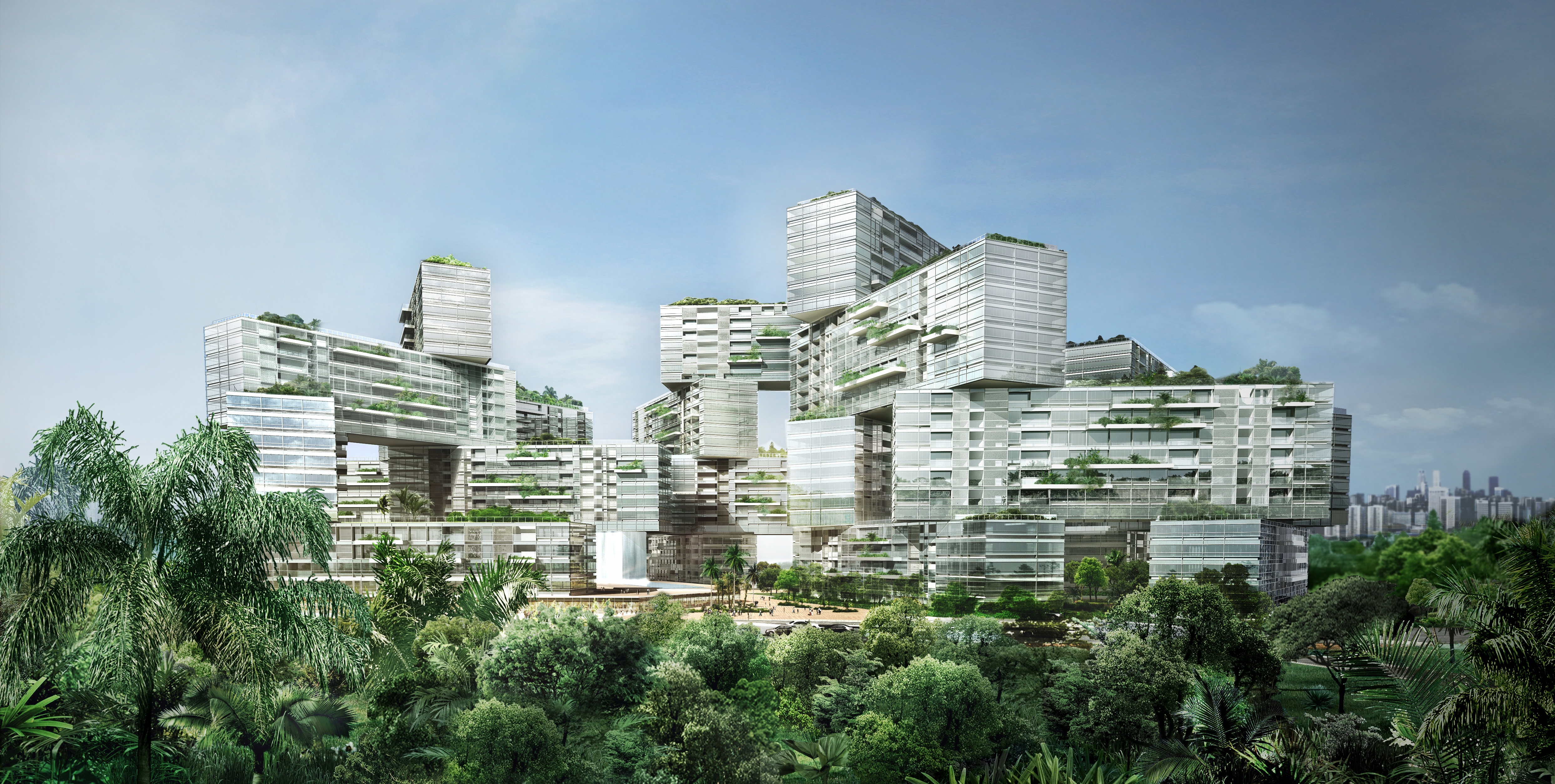 The Interlace Bldg Prospective(high res)