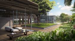 Bellewaters - Boutique Courtyard Lobby Opt1
