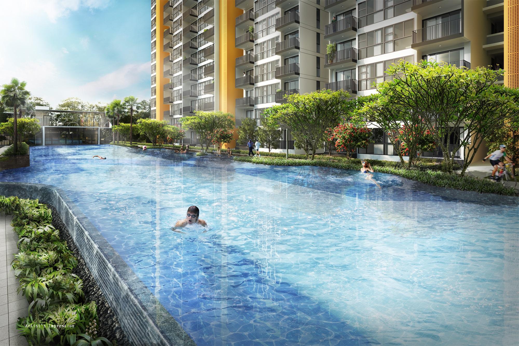 Westwood 50M Lap Pool & Aqua Gym