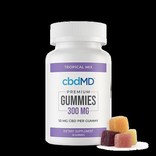 cbdMD Gummies - 300 mg - 30 Count - 10mg per gummy