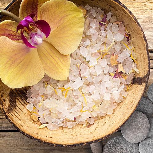 Sea Salt Orchids Natural Candle
