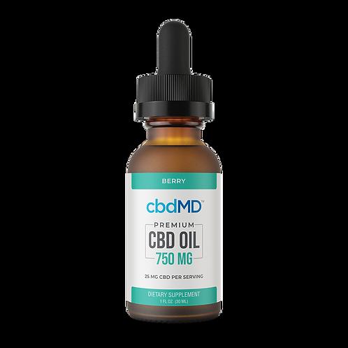 cbdMD 1oz Oil Tincture - Berry - 750 mg
