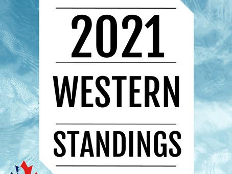 '21 WESTERN STANDINGS