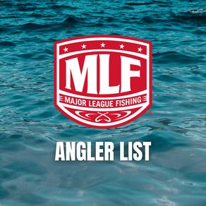 Canadian Open Angler List