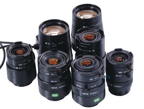 "1/3"" Vario Objektiv 5,0 – 50,0 mm DC Blende"