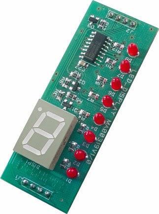 AVS LED-Anzeige LCD W