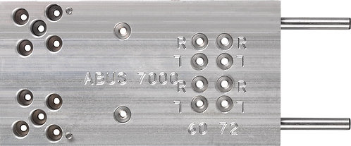 Bohrschablone für Funk-Türzusatzschloss 70xx