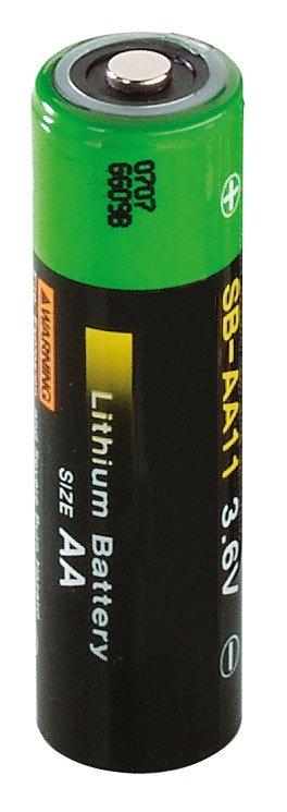 Ersatzbatterie 3,6 V AA ER14500 Li
