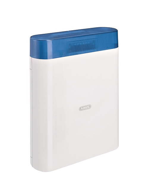 ABUS Draht-Außensirene (blau)