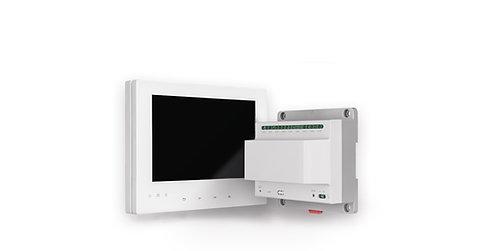 Innenstation Set für Netzwerkkameras (Monitor / Verteiler)