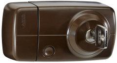 Secvest Funk-Türzusatzschloss mit Innenzylinder – 7025 E (braun)