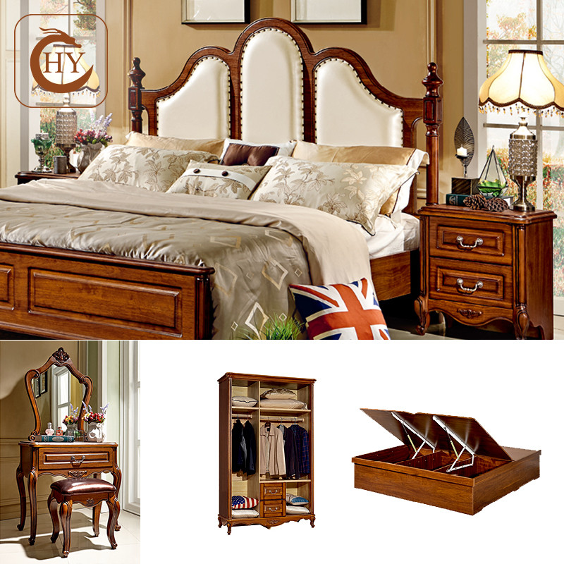 American-antique-style-Bedroom-Furniture