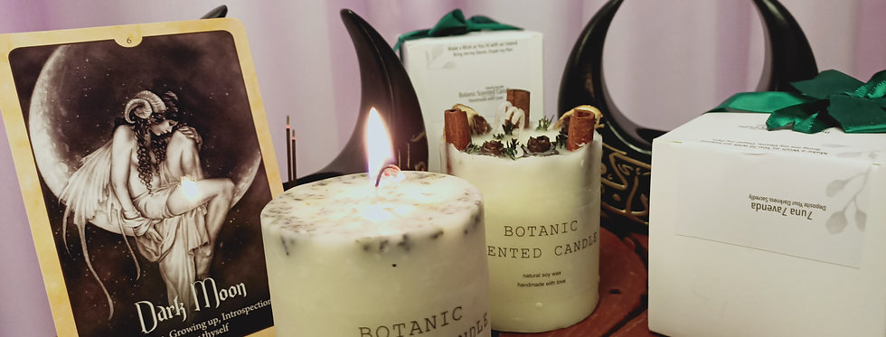 Scented Crystal Candle