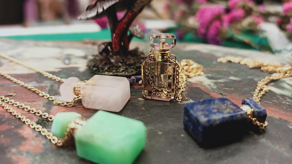 Mini Perfume Crystal Bottle
