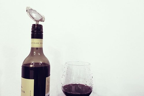 Raw Crystal Wine Stopper