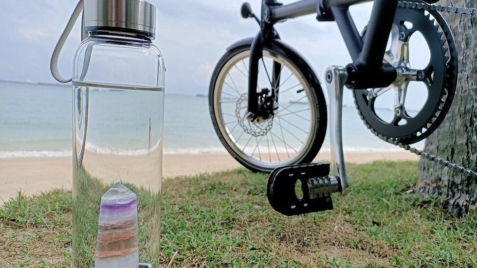 Crystal Point Water Bottle