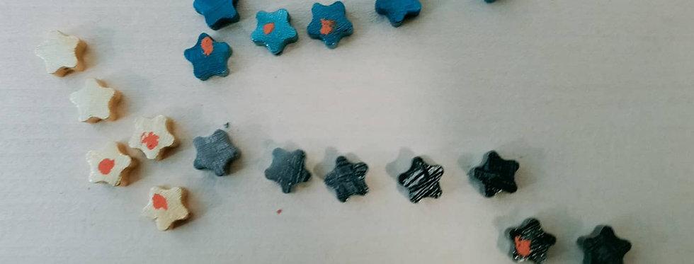 Meteorite Star Charm (Bracelet)