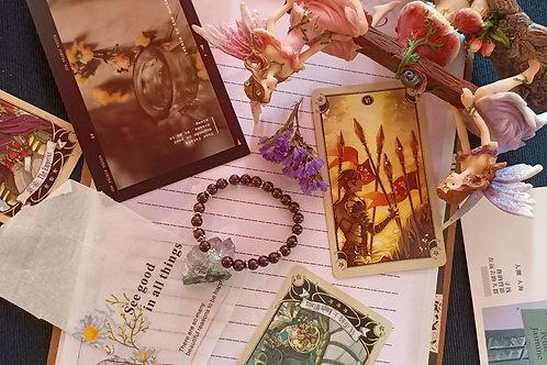 Freedom (Garnet) Bracelet