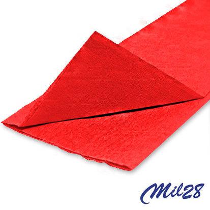 Papel crepé 1028 básicos rojo x 10 unidades