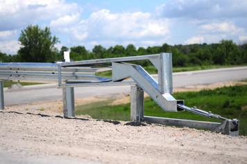 Guide rail end terminal - example photo