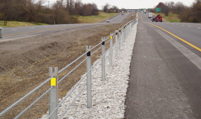 Cable guide rails - example photo