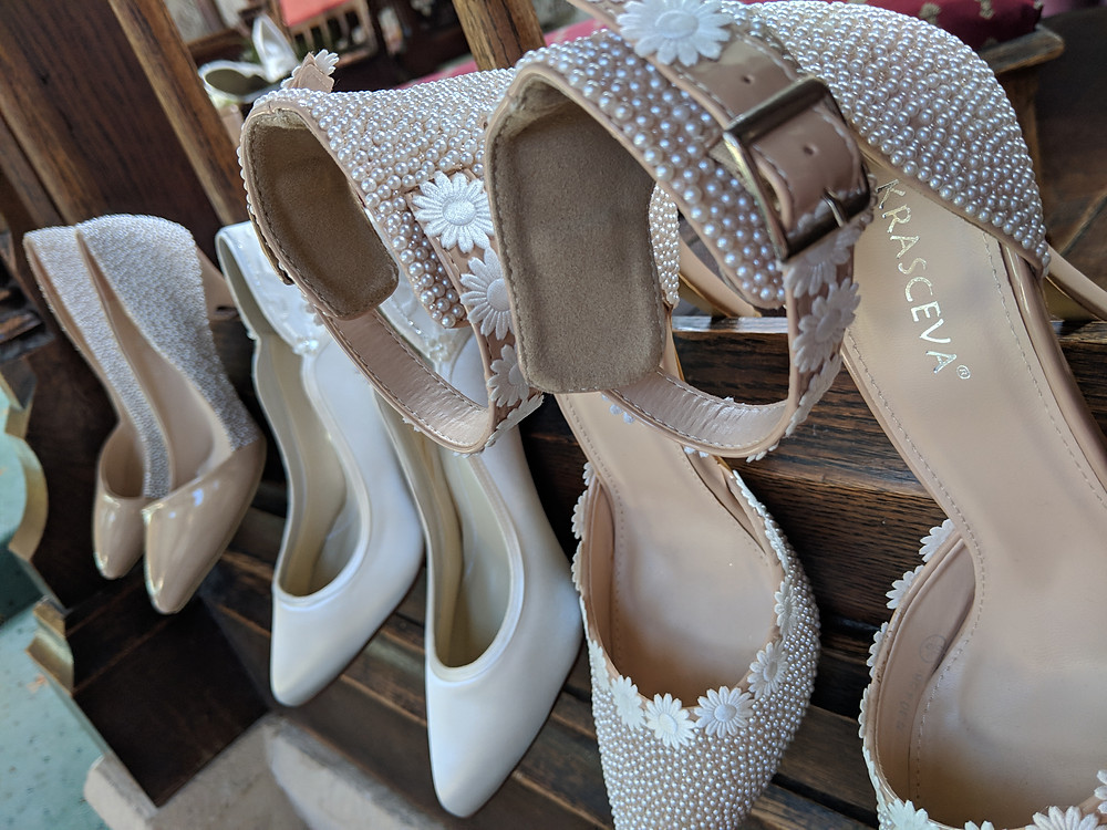 heels shoes wedding fashion cathedral church white
