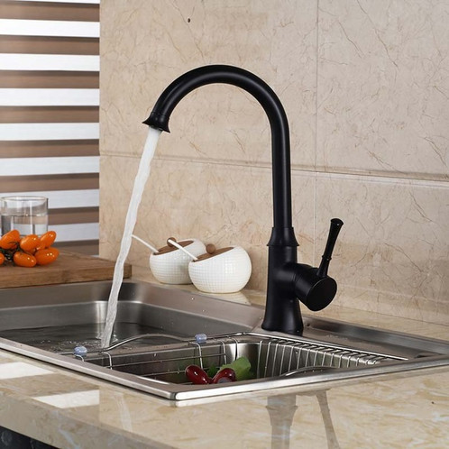 ROBBI Luxury 1 Handle Kitchen Sink Faucet, Beautifully Designed In France.  Number Of Handles: Single Handle Spray Type: None Type: Ceramic Plate Spool  ...