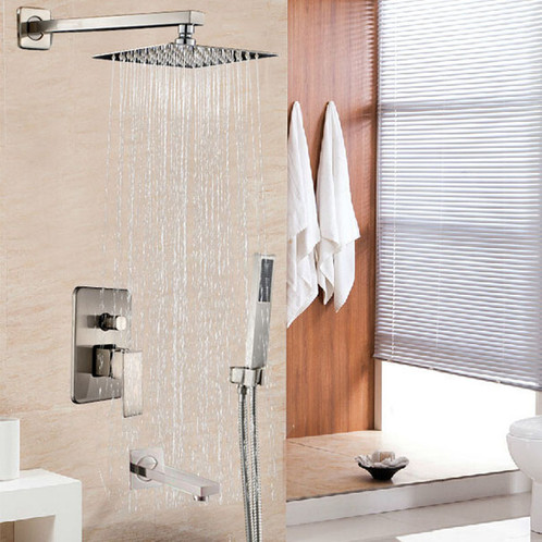 VIMA Rain Shower Faucet Set with Handshower | Canada Faucet Outlet ...
